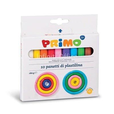 Plasteline Primo 10 ngjyra