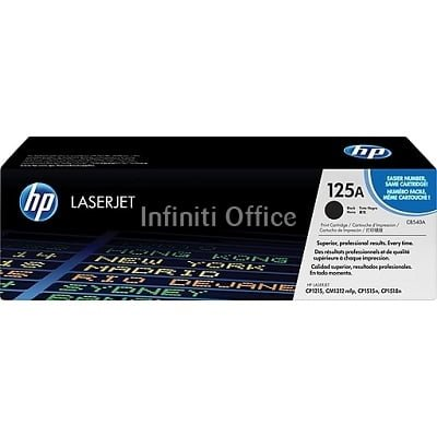 Toner Laser HP 125A Black