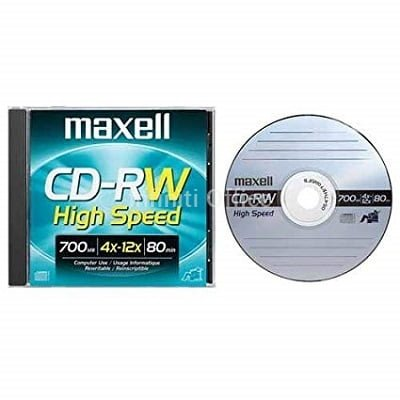cd-rw Maxell me kapak