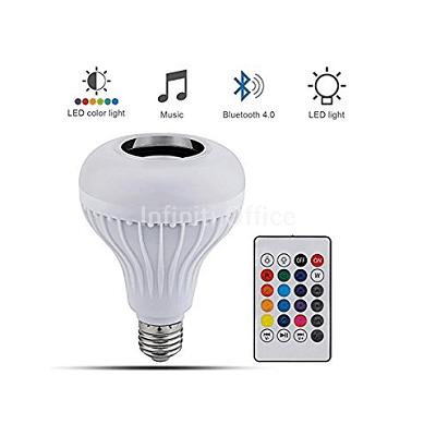 Boks me Bluetooth me drite LED+Telekomande KK-155