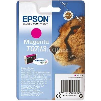 Toner Inkjet Epson T0713 Magenta Compatible
