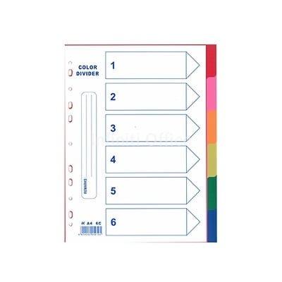 Ndarese me 6 ngjyra