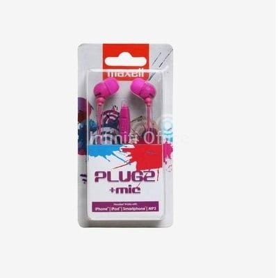 Kufje Maxell Plug2+mic