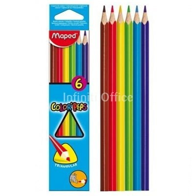 Lapsa me ngjyra 6 Color Peps Maped