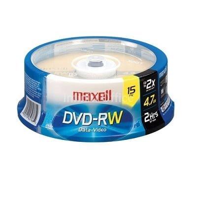 DVD+RW 4x4.7 GB MAXELL