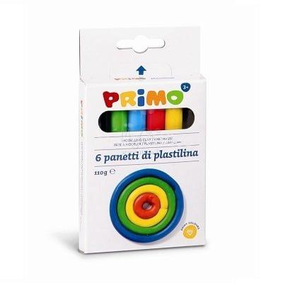 Plastelin Primo Me 6 ngjyra