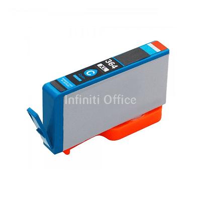 Toner Inkjet HP 364XL Cyan Compatible