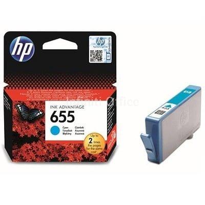 Toner Inkjet HP 655 Cyan