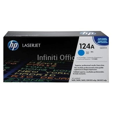 Toner Laser HP 124A Cyan