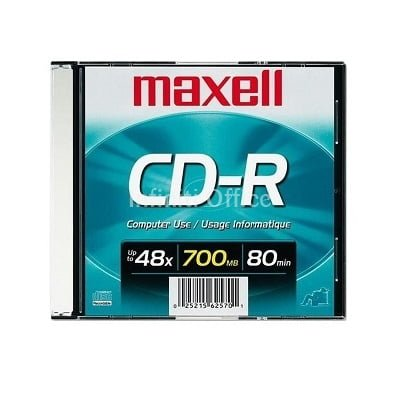 CD-R 700 MB MAXELL KAPAK SLIM
