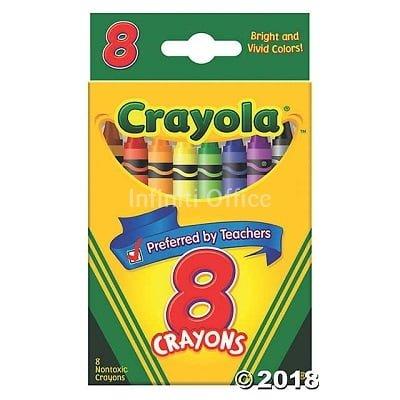 Bojra dhjami Crayola 8