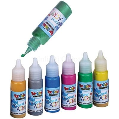 Decograf Akrilik 25 ml Toy Color