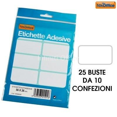 Etiketa adezive me ndarje 210 x 297 (A4) TE NDRYSHME