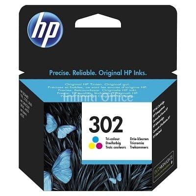 Toner Inkjet HP 302 Colour