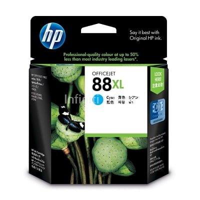 Toner Inkjet HP 88XL Cyan