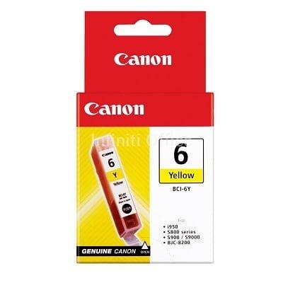 Toner Inkjet Canon 6 Yellow