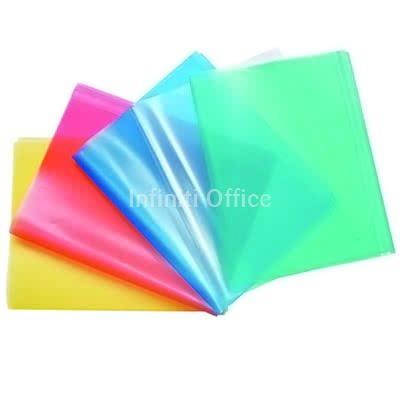 Mbeshtjellse Fletore transparente/me ngjyra te thjeshta 001