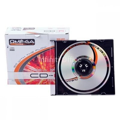CD-R me kapak te holle OMEGA