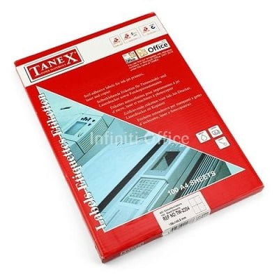 Etiketa adezive me ndarje 35 x 33 Tanex