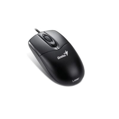 Genius Mouse Laser, USB, NS-200, Black