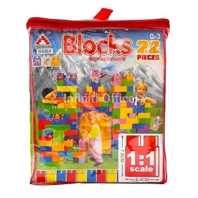 Kuba Formues te medhenj Nr 6685 Blocks Boy alcazar world