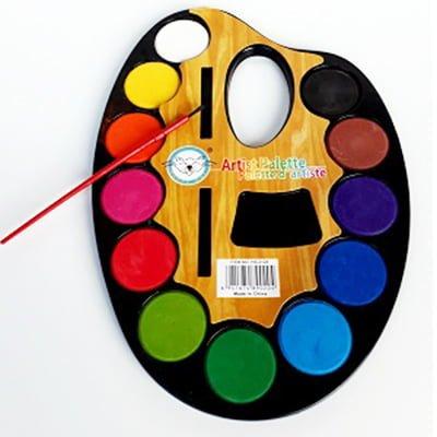 Bojra uji me penela Artist Palete HS-618
