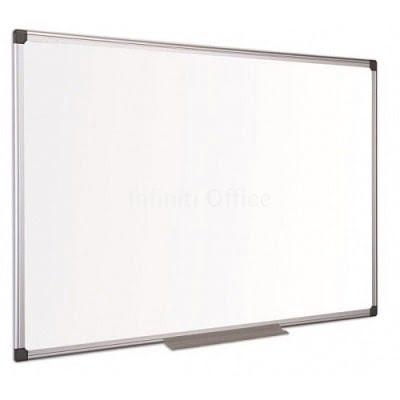 Tabel white board kornize alumini 90x180