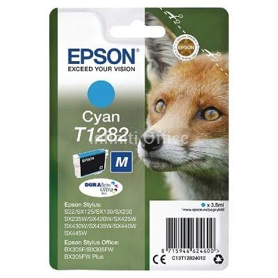 Toner Inkjet Epson T1282 Cyan