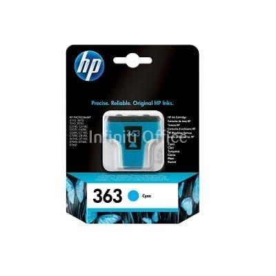 Toner Inkjet HP 363 Cyan
