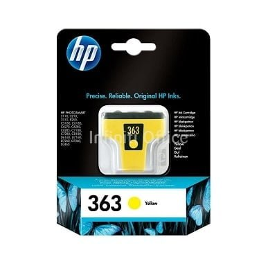 Toner Inkjet HP 363 Yellow