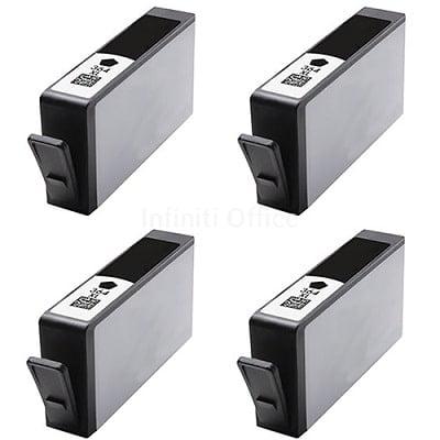 Toner Inkjet HP 364XL Black Compatible