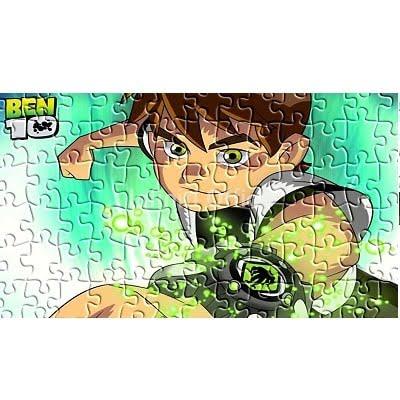 Puzzle Leter Ben 10