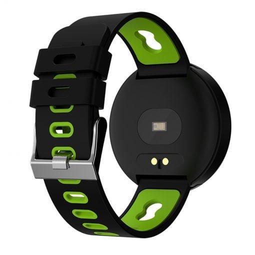 Me Smartwatch V0 qe mund te beni lidhjen me Bluetooth Mates aktiviteti, Alarm Clock, presioni i gjakut, rrahjet e zemres, aktivitetin tuaj fizik, statistika profesionale, reminder, hapat dhe distancen qe pershkruani. Merrni te gjitha te dhenat tuaj nga ora si SMS apo telefonata. CPU NRF52832 Memorie 128 MB RAM 128 MB Rezolucioni 240 * 240 MP. Kapaciteti i baterise 120 mAh Madhesia e ekranit: 0.95″ OLED. Bluetooth: 4.0