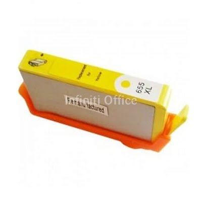 Toner Inkjet HP 655 Yellow