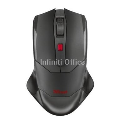 Trust Mouse gaming wireless,USB Black