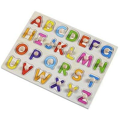 Puzzle druri me shkronja