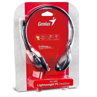 Genius headphone+ Micophone HS-200C