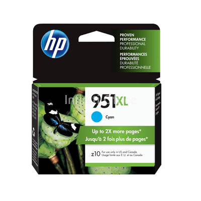 Toner Inkjet HP 951 XL Cyan
