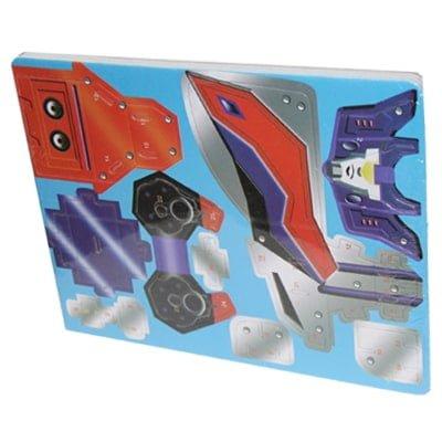 Puzzle 3D Karton 4 fije