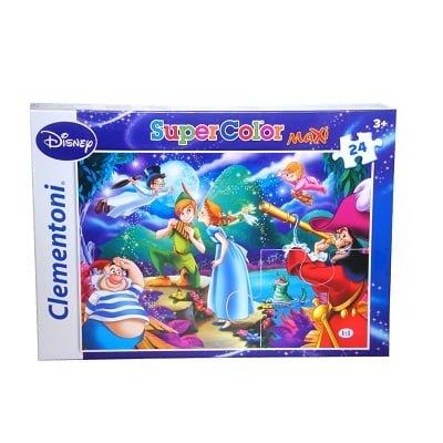 puzzle maxi 24 peter pan clemonti