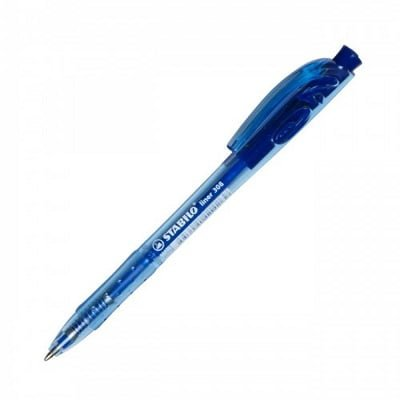 Stilolaps STABILO liner 308 Ballpoint Xtra-Fine blu